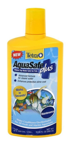 Tetra Aquasafe 500ml Acondicionad - Unidad a $61900