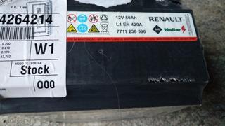 Batería Renault Original Heliar 50 Amperes
