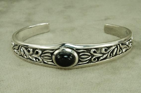Bracelete Pulseira Pedra Bali Especial (l36) Prata 925