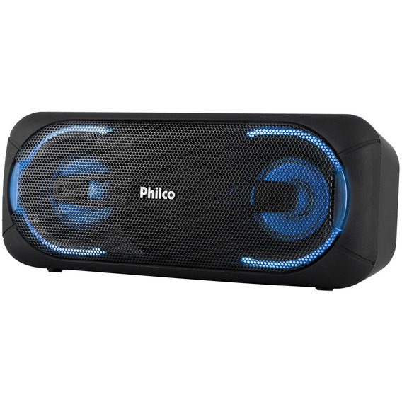 Caixa De Som Portátil Philco Bluetooth Speaker Pbs50 50w, Pr