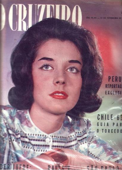 O Cruzeiro 1962.raio X.eder Jofre,chile.indios.saõ Paulo.mod