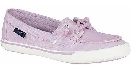 Sperry Top Sider Lounge Sneaker Zapatillas Para Mujer, Morad