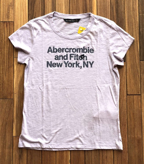 Camiseta Feminina Abercrombie & Fitch Feint Grp