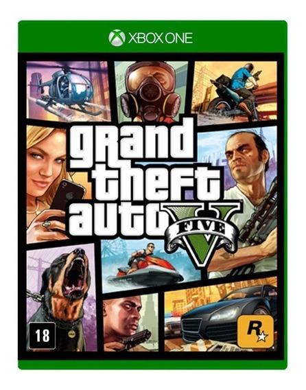 Gta 5 Xbox One Grand Theft Auto V Em Estoque Mídia Física
