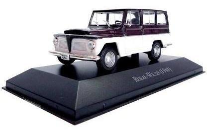 Imagem 1 de 4 de Coleção Carros Inesqueciveis - Rural Willys 1968