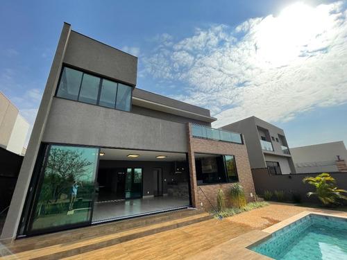 Imagem 1 de 30 de Casa Com 4 Suites À Venda, 410 M²  - Alphaville Iii - Ribeirão Preto/sp - Ca1755