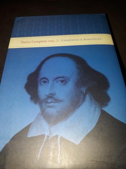 Box Livro Skakespeare Teatro Completo Vol 2 Comédias Romance