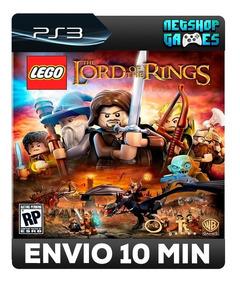 Lego O Senhor Dos Anéis - Psn Ps3 - Legendas Pt-br - Oferta