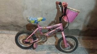 Bicicleta De Nena Rodado 12