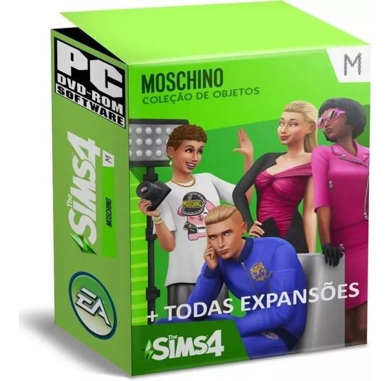 The Sims 4 - Todas Expansões + Assombroso - Digital Pc