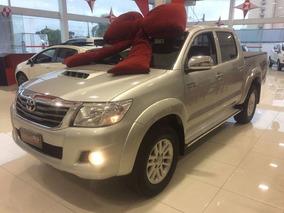 Toyota Hilux Srv Completa 2013 Prata Diesel