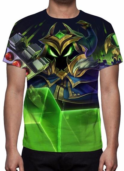 Camisa, Camiseta League Of Legends - Veigar Chefão Final