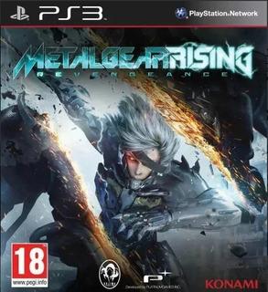 Metal Gear Rising Revengeance Ps3 Original-play Perú
