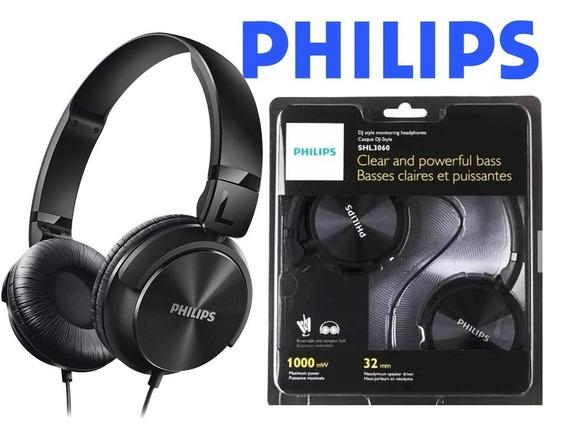 Fone De Ouvido Philips Shl3060 Dj Original Preto