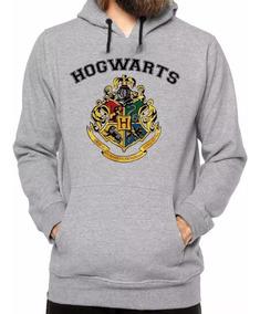 Blusa Casaco Moletom Harry Portter Hogwarts Com Capuz