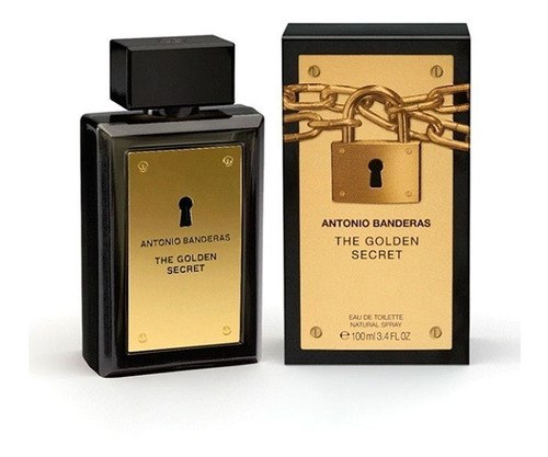 Perfume Antonio Banderas Golden Secret 100ml Para Hombre