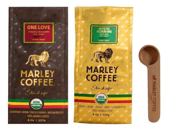 Café Marley Coffee Molido 2 Unidades + Spoon Clip