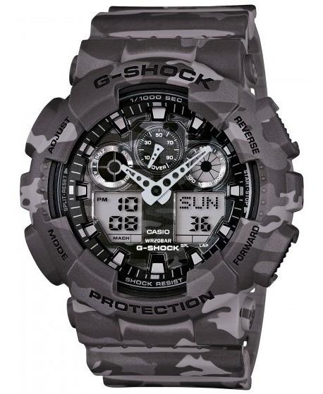 Relógio Casio Ga-100cm-8adr G-shock Camuflado - Refinado