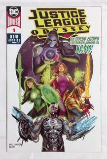 Justice League Odyssey Dc Universe New Justice Español