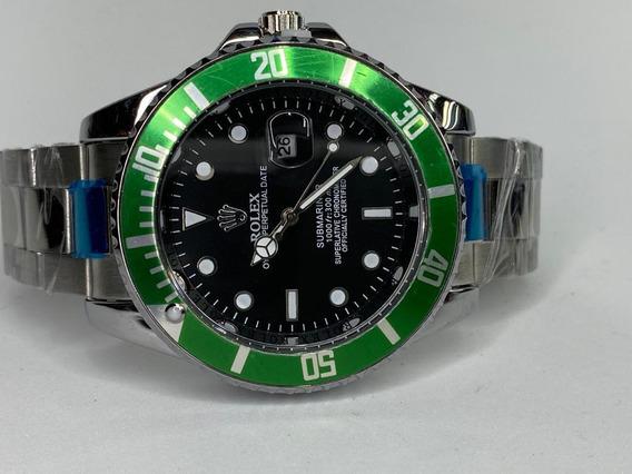 Reloj Moda Rolex Submariner Verde