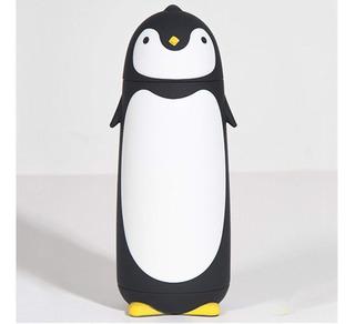Termo En Forma De Pinguino Negro 300ml