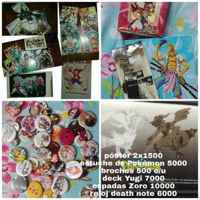 Anime Productos Dragon Ball, Naruto, Death Note, Broches Etc