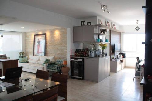 Apartamento Mobiliado Para Locação No Home Design Brooklin. Rua Professor José Leite E Oiticica, 434. - Ap4792