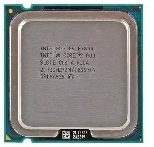 Processador Core 2 Duo E7500 2.93ghz Intel Lga 775 + Cooler