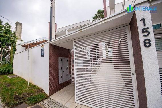 Sobrado Com 3 Dormitórios À Venda, 167 M² Por R$ 660.000,00 - Mercês - Curitiba/pr - So0165