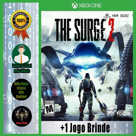 The Surge 2 Xbox One Midia Digital +1 Jogo Brinde