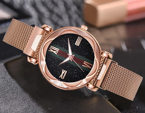 Relógio Feminino De Luxo Starry Sky Frete Gátis!!