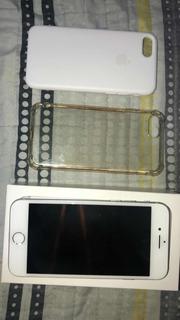 iPhone 7 Prata, Pouco Usado, 32gb