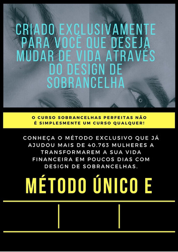 Design De Sobrancelhas, Curso Para Ter Renda Extra