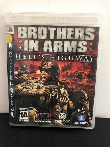 Jogo Ps3 Brothers In Arms Hells Highway Mídia Física Guerra
