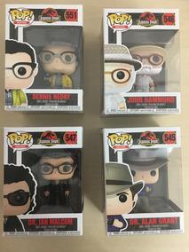 Kit Com 4 Funkos Pop - Jurassic Park