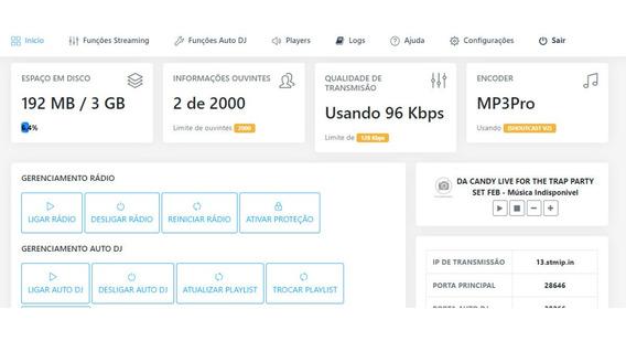 Streaming Web Radio R$7,00