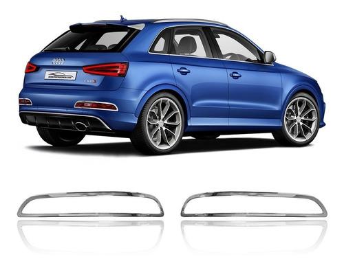 Moldura Aplique Farol Neblina Traseiro Audi Q3 2013 A 2015