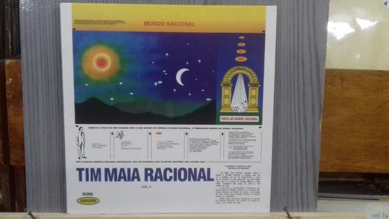 Lp- Imp - Tim Maia - Racional Vol. 2 - 180g -frete 15