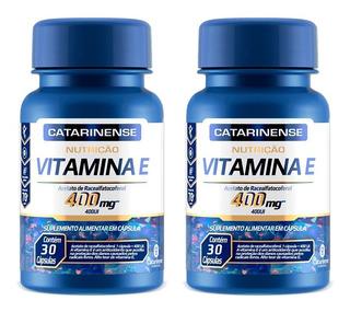 Vitamina E 400 Ui - 2x 30 Cápsulas - Catarinense