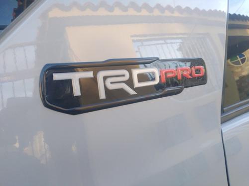 Emblema Trd Pro Para Toyota, Hilux, Tacoma, Meru, 4runner.