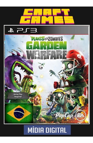 Plants Vs Zombies Garden Warfare Ps3 Psn Digital Game Pt-br