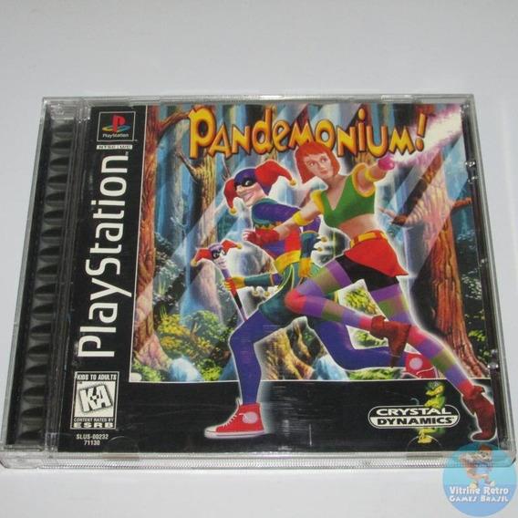 Pandemonium Original Americano Playstation Completo !