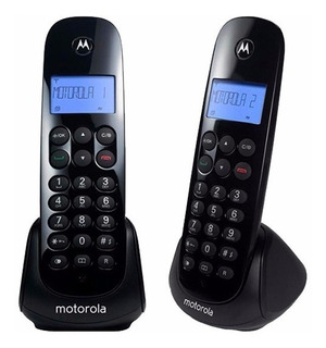 Teléfono Inalámbrico Motorola M700-2 Digital Negro Alarma