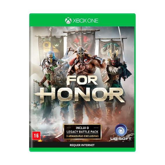 For Honor Xbox One Mídia Física Novo Lacrado
