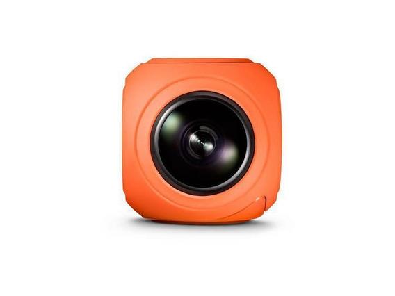 Camera Atrio Panoramica X-pheral Wi-fi Filme Em 360 C/ Oculo