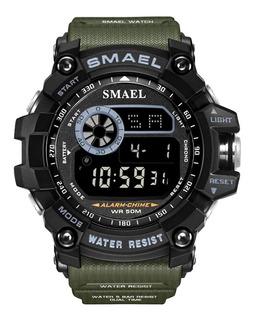 Reloj Deportivo Digital Militar Original Resistente Al Agua