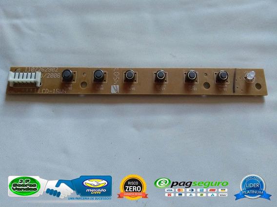Placa Teclado Funções 1107262902 Cce Lwi-135 Funcionando100%