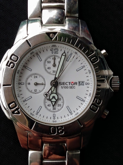 Relógio Sector Cronógrafo Quartz 42mm -vidro Cristal - Myota