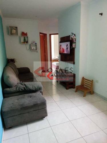 Apartamento Com 2 Dormitórios À Venda, 49 M² Por R$ 230.000,00 - Jardim Das Maravilhas - Santo André/sp - Ap3010