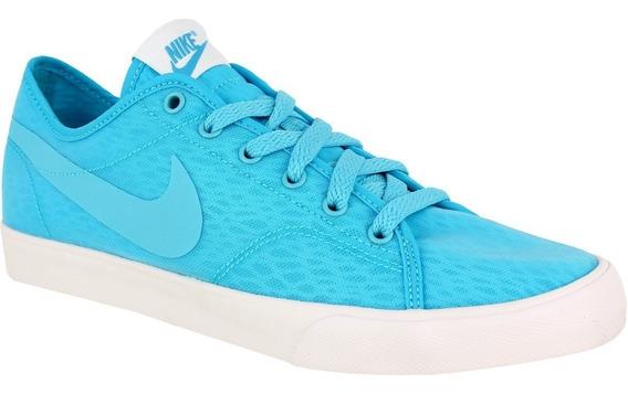 Tênis Nike Primo Court Breathe Br Casual Azul Original